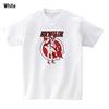ロケットガールプリントTシャツ 白/イエローの2色から選べます。