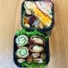 天ぷら弁当とマカロニ