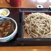 長野駅前『そば亭 油や』の鴨せいろと馬刺し。新幹線に乗る前に、さっと食べられる立地の良いお蕎麦屋さん。