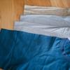 無印良品 インド綿洗いざらし布帛Tシャツの着心地が良すぎて4枚買って着回している
