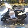 #バイク屋の日常 #スズキ #レッツ2 #洗車