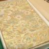 伊調馨さんに贈られた国民栄誉賞記念品の帯は、一度は手にしたい老舗織元の袋帯。