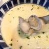 簡単w【1食47円】あさり味噌汁deクラムチャウダー風スープのリメイクレシピ