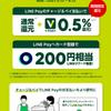 三井住友カードがLINE Payのチャージ&ペイに対応! 但しANAカードは対象外(涙) +0.5%還元キャンペーン開催【5/13-8/12】