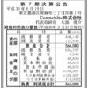 ママ向けアプリ「ママリ」のConnehito株式会社 第7期決算公告