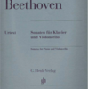 ベートーヴェンのチェロソナタ第1番 本を読んでみて。