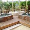 和風風呂とバリ風風呂が週替わりで楽しめる、熊野の郷