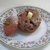 レンジで作るまるまる焼きりんごケーキ