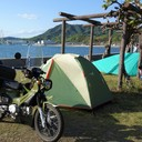 バイクとキャンプと!