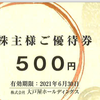 大戸屋・優待食事券