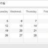 Tableau で Calendar その2 (全部で3か4)