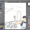 お絵描き練習14(色塗り説明回)
