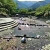 岐阜県大津谷公園へ川遊びに行ってきました