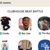 【Clubhouse(クラブハウス) ビートメイカー活用法】Drakeや21 Savageがあなたのビートを聞いてくれるビートバトル!トラックメイカー が参加すべきルーム