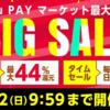 総合ショッピングモール「au PAY マーケット」で今季最大級の「BIG SALE」開催!