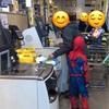 スパイダーマン参上!