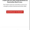 オーストラリア赤十字に募金をした話。(きっかけと自分の姿勢を変えるって大事ですね)