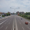 イタリア郊外の道路