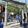 かぎやまつり② 新田から本郷熊野神社へ