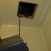 賃貸コーポの二階から一階へ浴室からの水漏れ事例