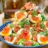 【レシピ】ブロッコリーと半熟卵のカリカリベーコンサラダ