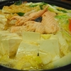激安な鮭あらで水炊き⇒石狩鍋の変化鍋~締めは麦飯の鮭卵雑炊~