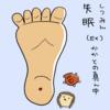奇穴(EX)  失眠(しつみん)