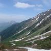 岳沢 登山 6月 前穂高岳改め岳沢パノラマ