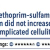 ACPJC:治療 単純性蜂窩織炎の治療としてセファレキシンにST合剤を追加しても治癒率は改善せず