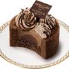 【ローソン】GODIVAとコラボしたリッチすぎるケーキ「ショコラ トゥルビヨン」