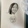 【初心者必見】描いてみよう!鉛筆肖像画の制作工程④