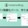 【はてなブログ用】カテゴリーを階層化するブログパーツを作りました【多段階層OK】【脱jQuery】