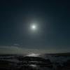 塩浦海水浴場に行ってきたら月の夜空と朝焼けがばっちりだった