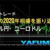 1月1日(金)【Year】ドル円・ユーロドル年間チャート『激動の2020年相場を振り返る!』