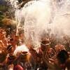 【動画あり】八ッ場ダムの水没予定の温泉街で「最後?」の湯かけ祭り【群馬】