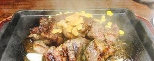 いきなりステーキの「乱切りカットステーキ300g」でいい肉いろいろ