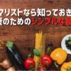 ミニマリストなら知っておきたい健康のためのシンプルな食事