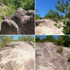 【白山(しろやま)】花崗岩が風化した蒼白の大地【(黒崎)白山比咩神社(1)】