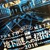 【脱出感想】地下謎への招待状2018