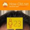 今日の顔年齢測定 71日目