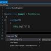 【Visual Studio】Ctrl + Shift + V で過去にコピーした履歴からペーストできる