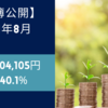 【家計簿公開:貯蓄率40.1%】2021年8月(+104,105円)
