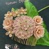 つまみ細工  桜染めの髪飾り  🌸  桜姫