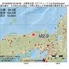 2016年08月09日 20時46分 兵庫県北部でM2.9の地震