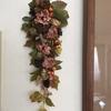 花と木の実のツオップをつくってみた♡