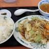 【日高屋】野菜炒め定食