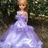 紫のドレス