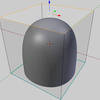 Blender 細分割曲面の滑らかさの変更方法【クリース】