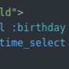 Rails の datetime_select メソッドを使ってみる