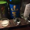 川口酒店で日本酒飲み比べ(日本橋)